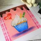 販売開始♡NEWパステルテキスト講座「カップケーキ」出来ました!♡の記事より