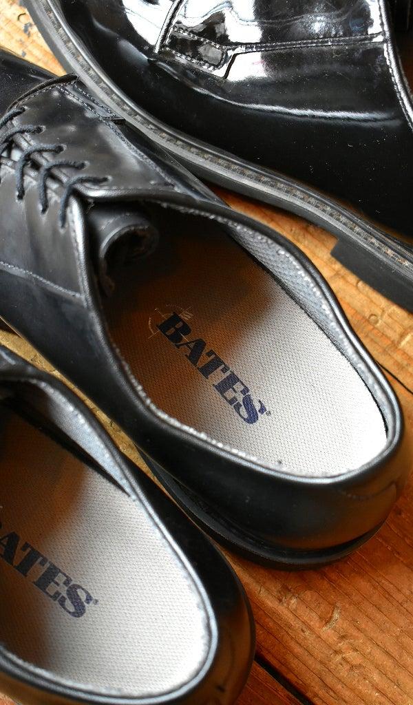 ベイツBATESレザーシューズ黒革靴@古着屋カチカチ