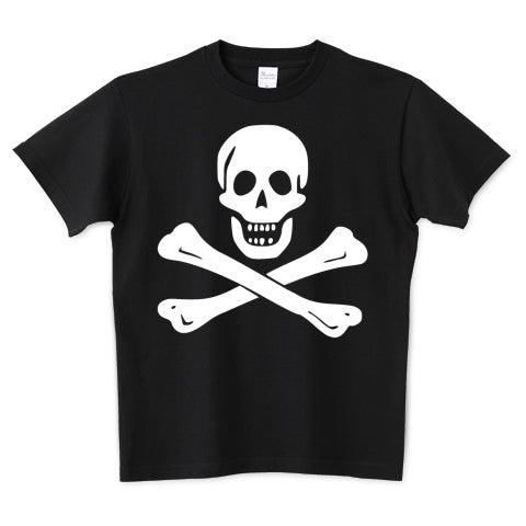 海賊旗スカル-Jolly Roger サミュエル・ベラミーの海賊旗-ロゴTシャツ ...