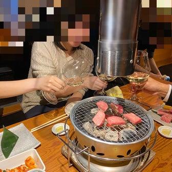 学生時代の悪友とお姉さん焼肉新年会★
