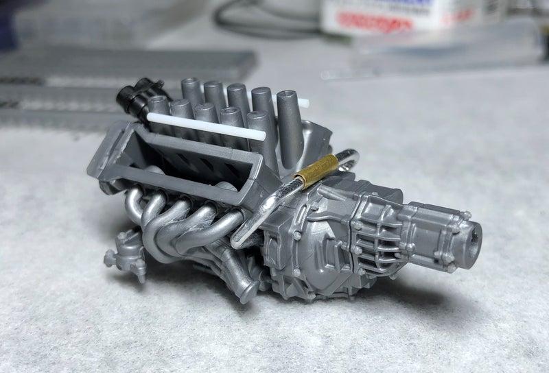 タミヤLFAのエンジン