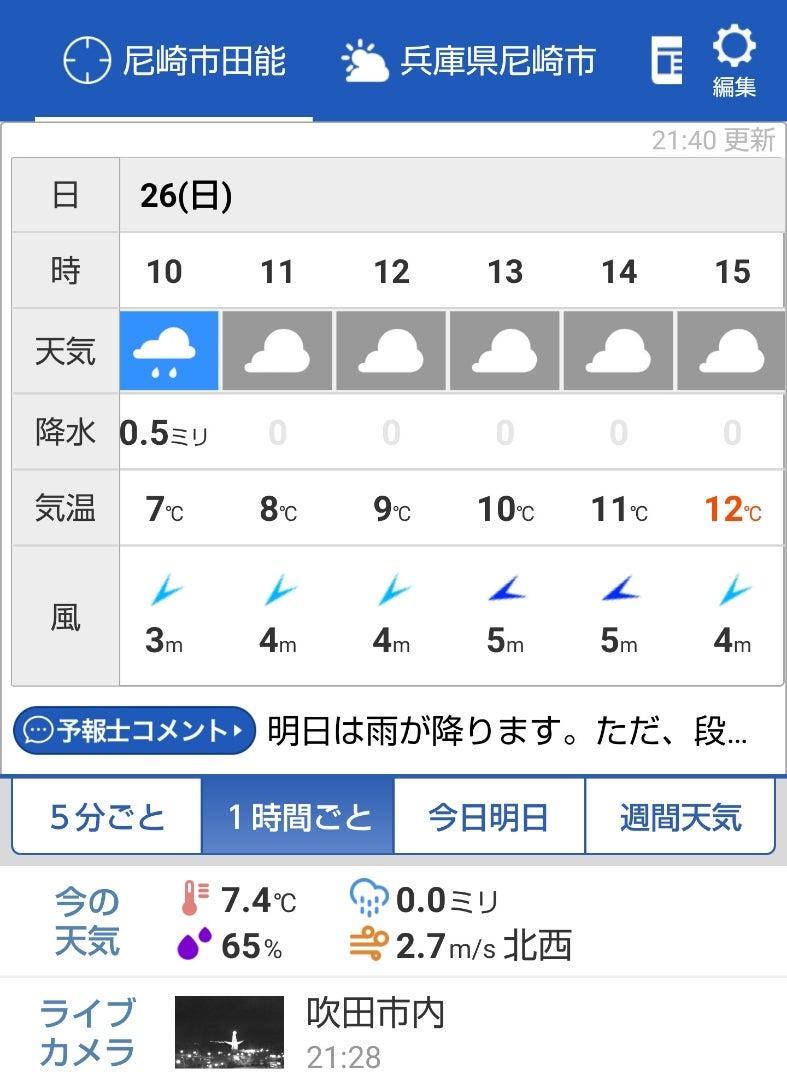 の 気温 明日