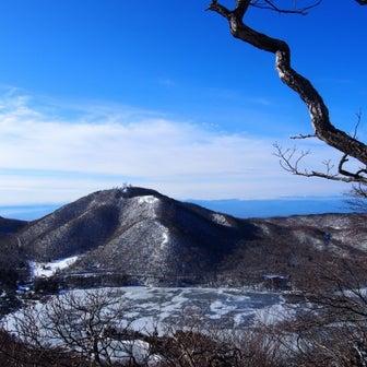 1/25 赤城 黒檜山~駒ヶ岳 おまけのアイスバブル!①