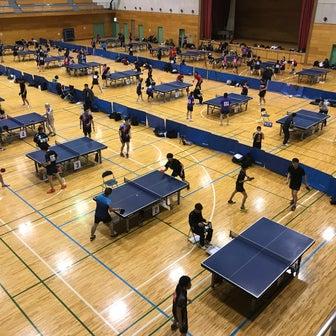 試合結果:新体連 年代別シングルス・ダブルス卓球大会