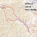 20200118  入道ヶ岳