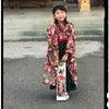 着物風カバーオール≪大き目サイズ≫の画像