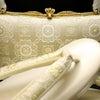 礼装用正絹和装バッグ草履セット2020|格調高い蜀江華文様|結婚披露宴、パーティー、留袖、訪問着の画像