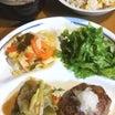 肉の物足りなさは野菜で補う。