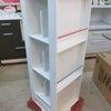 ♻️家具♻️☞360度回転ブックラック☞フリーラック☞YUAI キッチンカウンターの画像