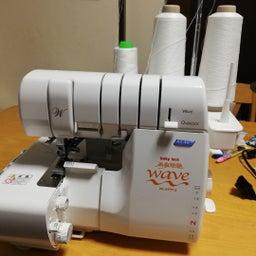 画像 ロックミシン、刺繍ミシン、(普通のミシンもあります)使いたい方におすすめです‼️ の記事より 1つ目