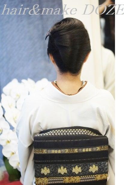 品のあるオトナの着物は和髪で。