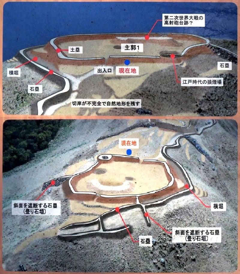 高崎城【主郭の図】
