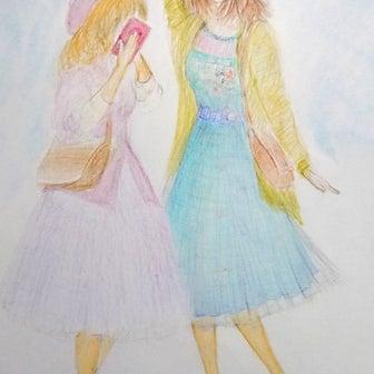 「彼女さんとのツーショット」イメージ画(^.^; 途中ですが。