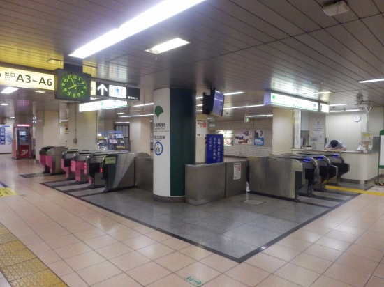 図 水道橋 駅 構内