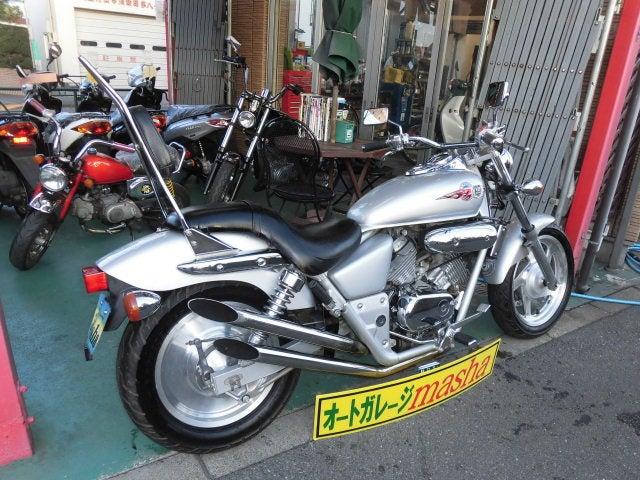 武蔵村山・瑞穂町・立川で中古バイク販売・修理・買取のmashaに激安マグナ250カスタム入荷!の記事より