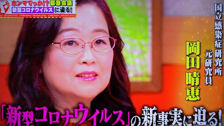 教授 白鴎 晴恵 大学 岡田