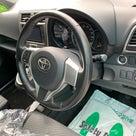 トヨタラクティ ステアリング補修、塗装、シフトノブ補修の記事より