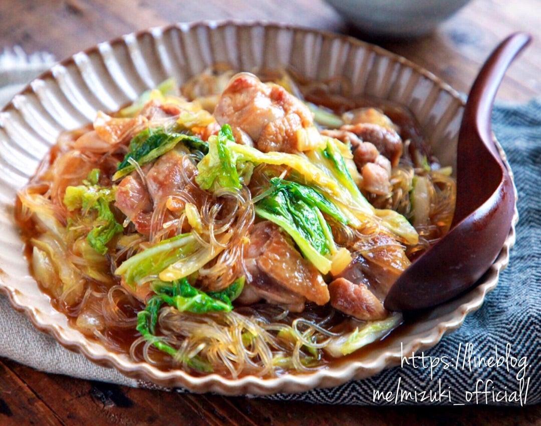 白菜 レシピ 鶏肉