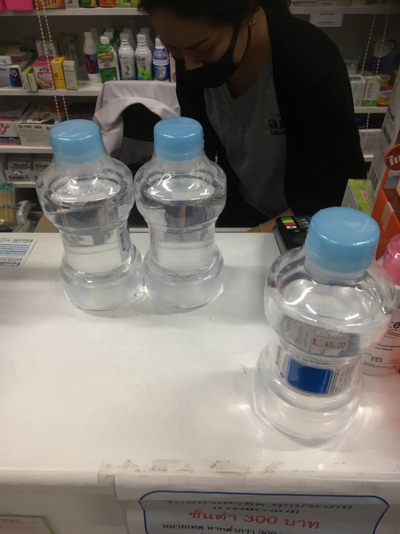 売り切れ 精製 水