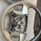 トヨタエスティマ ステアリング、シフトノブ補修、塗装の記事より