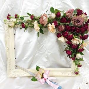 ウェルカムボード(生花)の画像