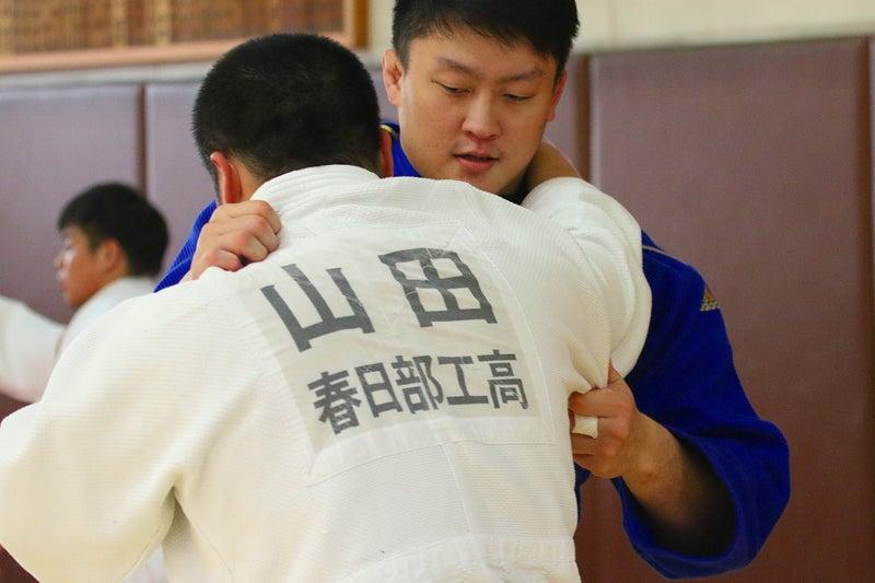 日本大学へ出稽古!(今季2回目) | 春日部工業高校柔道部監督のブログ