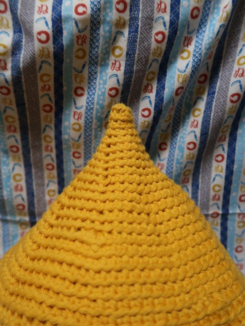シャーマン帽子のドアップ