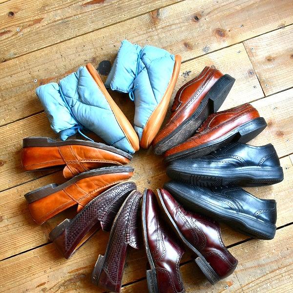 良質レザーシューズ革靴@古着屋カチカチ
