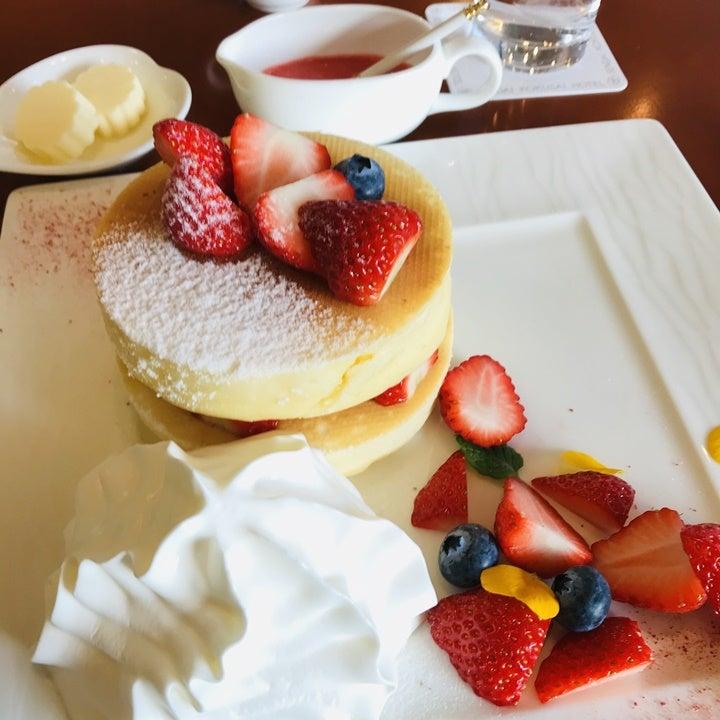 ホテルスイーツ フルーツパンケーキ