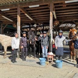 画像 手入れ講習会と馬装のお手本✨ の記事より 3つ目