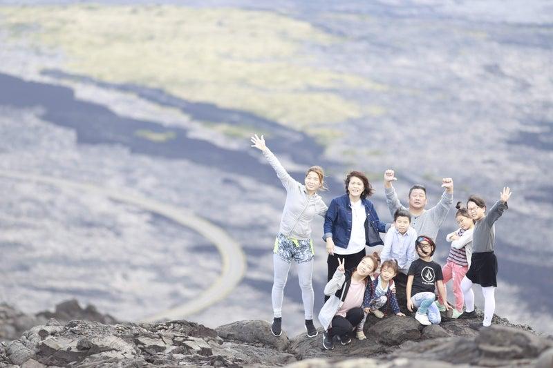 ボルケーノナショナルパークを3世代家族で楽しむ。ヒキ家 2020-02-10
