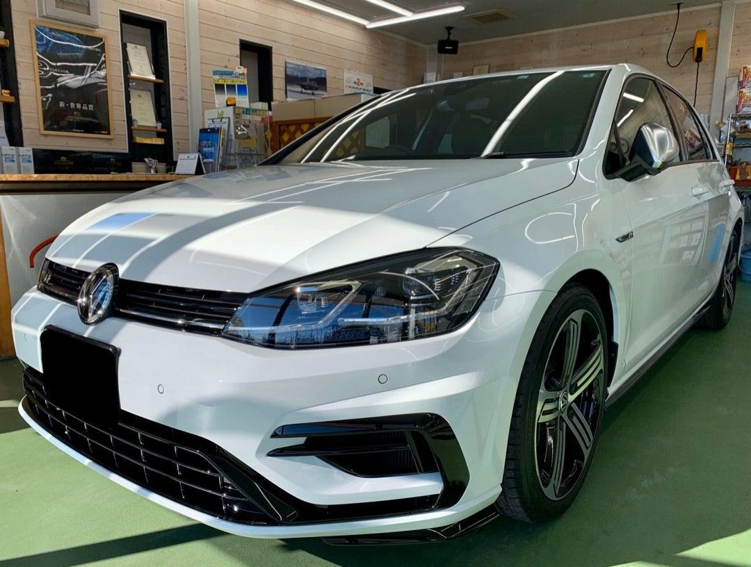 フォルクスワーゲン ゴルフR 新車 ハイモースコート ザ・ネオ施工