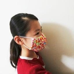 画像 マスク作りに挑戦‼️ パッと見、難しいかも……と思ったけど以外といける??? の記事より 4つ目
