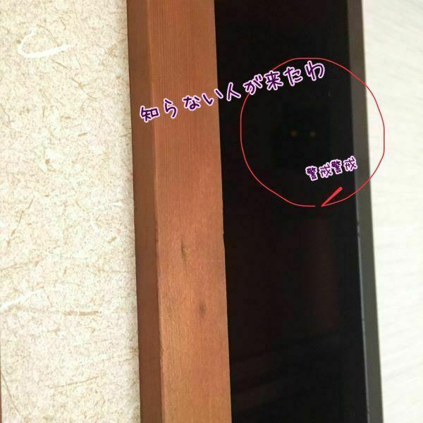 エルさんが押入れに隠れている画像