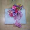 DIY ピンク系の花のアレンジフラワーの髪飾り1104②動画配信