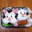 おむすびまんとこむすびまんのおにぎり弁当(*^ᵕ^*)