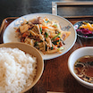 【ランチ情報】白河市にあるラーメン・焼肉店『ふくみ』さんの「もつ野菜炒め定食」レポート