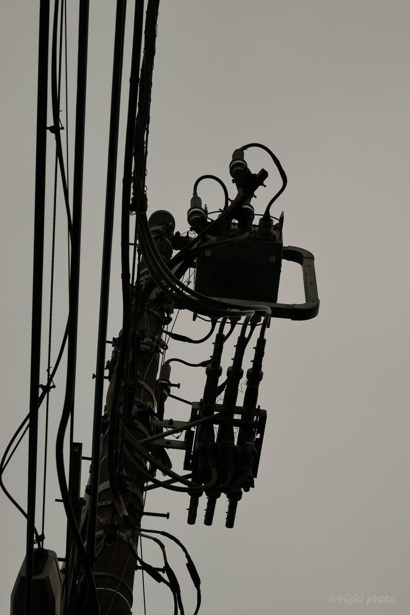 渋谷の電線©Hijiki Art&Design