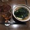 元住吉の蓬やで天ぷら酢鶏ナポリタンウマウマウーの画像
