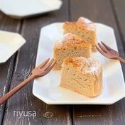 【フルーチェレシピ】苺のファーブルトン風ケーキ