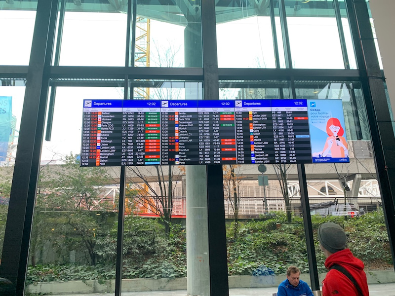 ジュネーヴ空港 スイス航空ラウンジ | FLYING TOUCH MANのため息