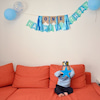 1歳のお誕生日は兄弟同等に…親戚集まり次男のお誕生日会@おくゆか家。の画像
