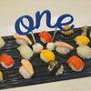次男の1歳お誕生日プレートは卵アレルギー対応の離乳食寿司に初挑戦!!の画像
