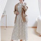 【GU】可愛すぎて即買いの2,990円ワンピで大人女子コーデ