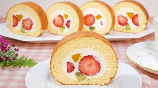 ロール ケーキ の 作り方