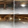 愛知県豊田市 シロアリ駆除消毒と床下調湿材敷き込み工事の画像