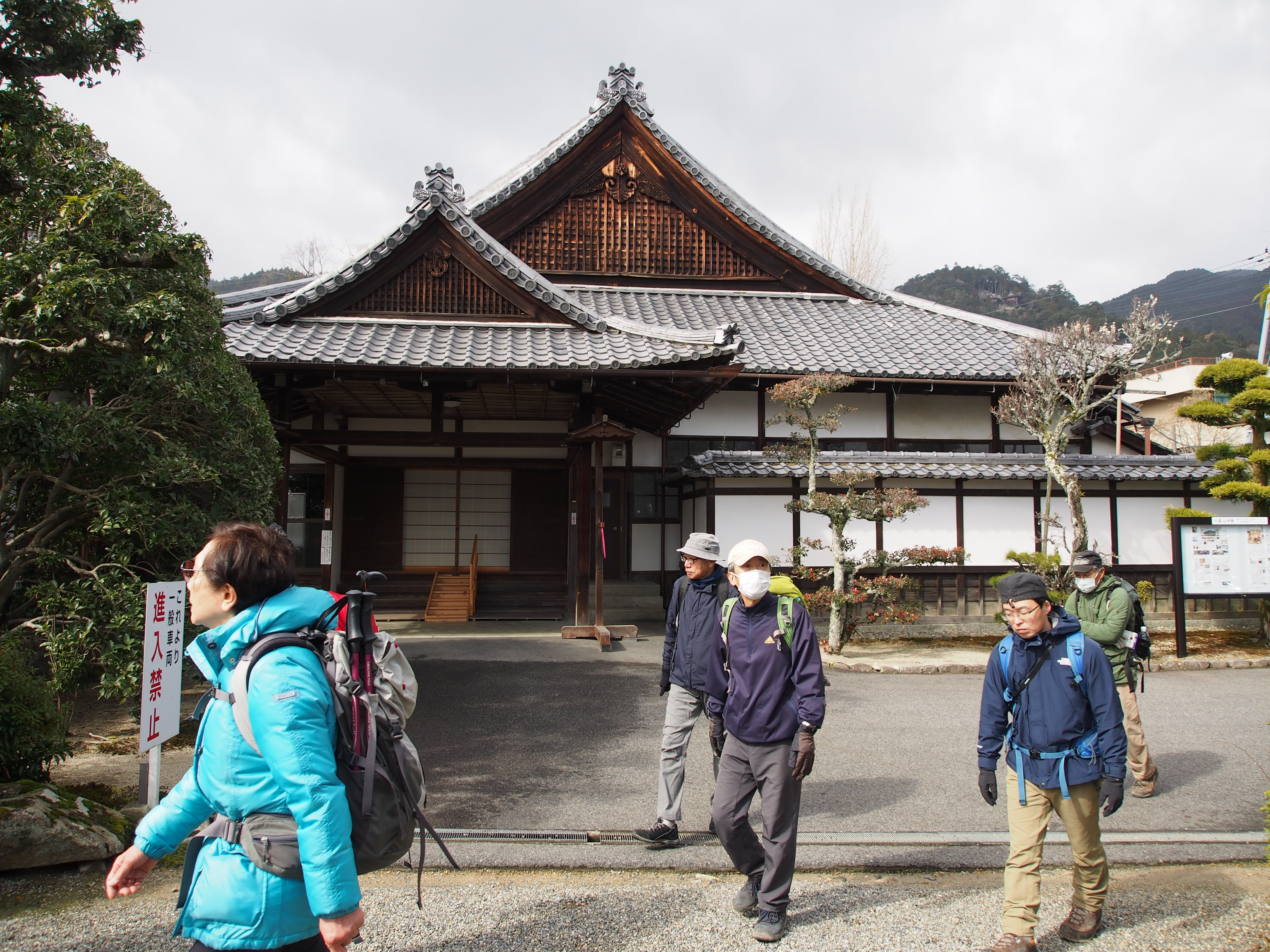 第160回山耀会・麒麟がくる1-⑩「滋賀院門跡」