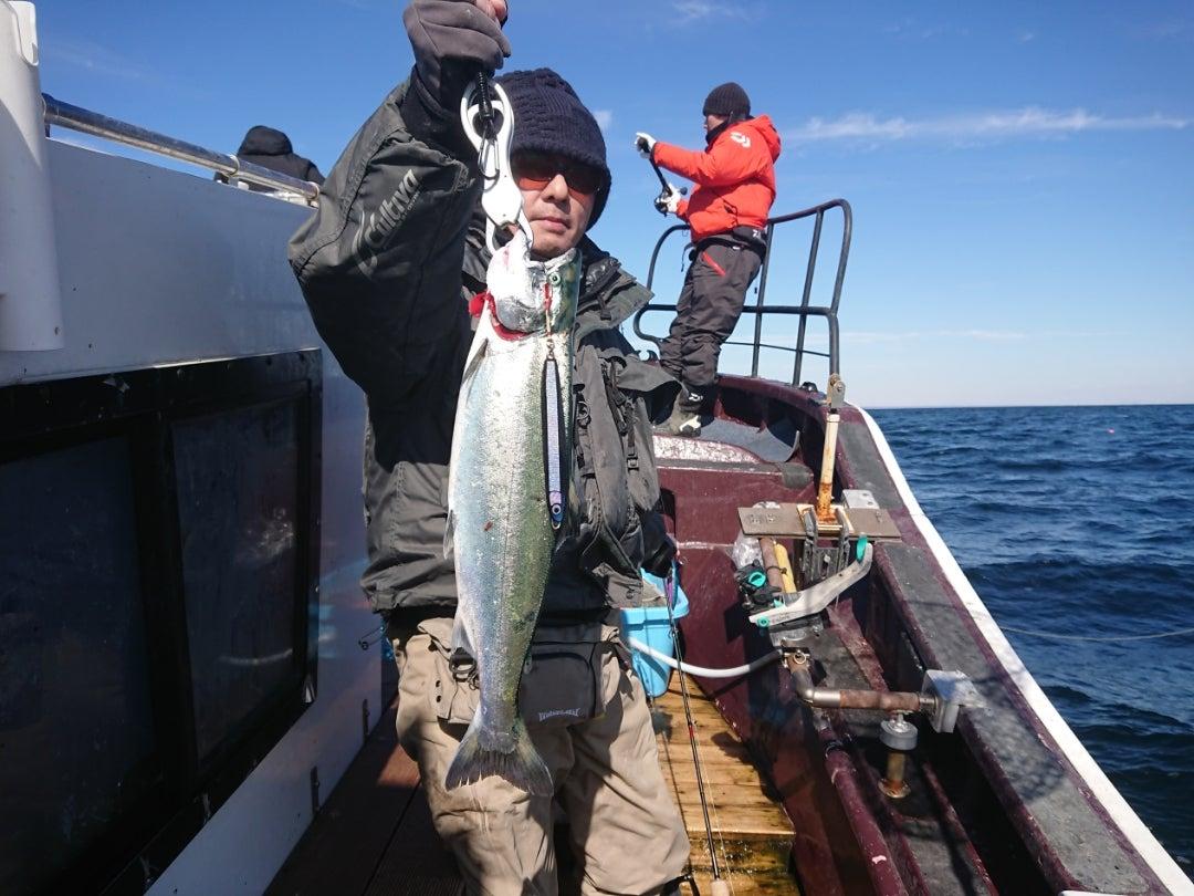 2月26日サクラマス釣りです