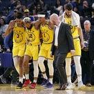 NBA怪我情報:ウォリアーズのドリルにメンバーが追加!ステフィン・カリーのコンディションは?の記事より