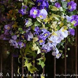 画像 紫ビオラのスリット壁掛け の記事より 2つ目